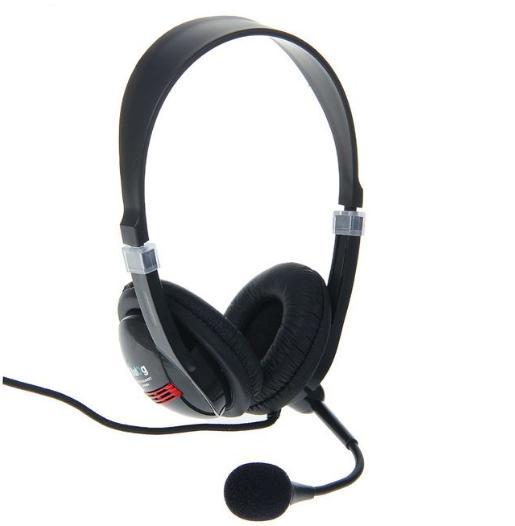 Гарнитура Dialog M-560HV, компьютерная, регулировка громкости, чёрная