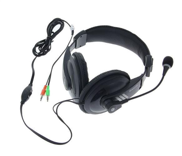 Гарнитура DEFENDER Gryphon 750, кабель 2 м, чёрная