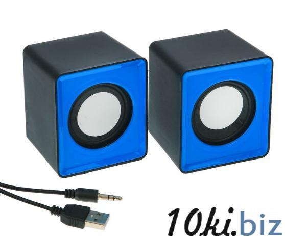 Портативная колонка USB, 2 шт, разъем 3,5, МИКС купить в Беларуси - Усилители звука, колонки