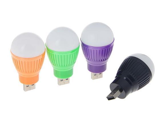 Светильник светодиодный Luazon, 5 ватт, в USB, микс