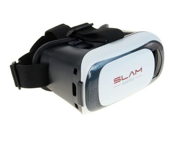 """Очки виртуальной реальности Smartbuy SLAM, для смартфонов с диагональю до 6"""", белые"""