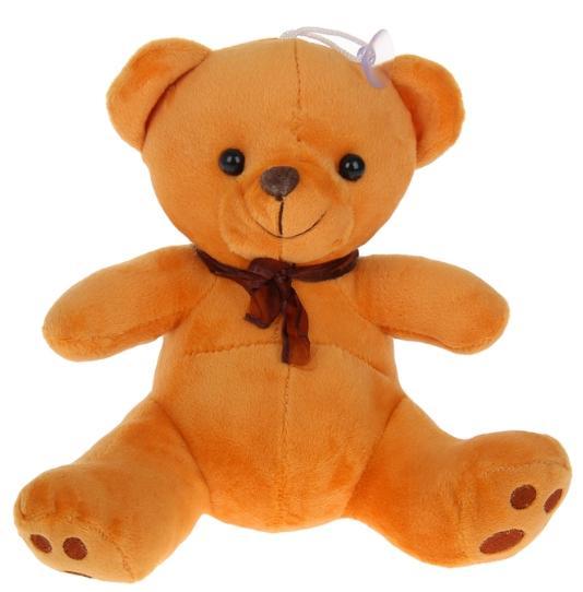 """Мягкая игрушка """"Медведь с бантом"""", МИКС"""