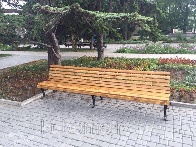 Скамейки Волна 3м
