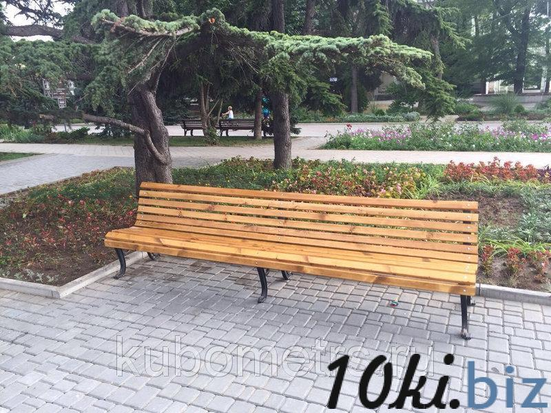 Скамейки Волна 3м купить в Ульяновске - Садовые и парковые скамейки с ценами и фото