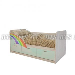 Фото  BTS МЕБЕЛЬ-Детская кроватка Минима