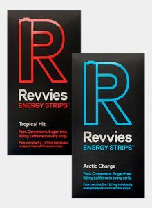 Фото  Энергетическая пластинка Revvies Тропический удар