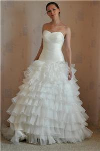 Фото Свадебные платья русалка Испанка