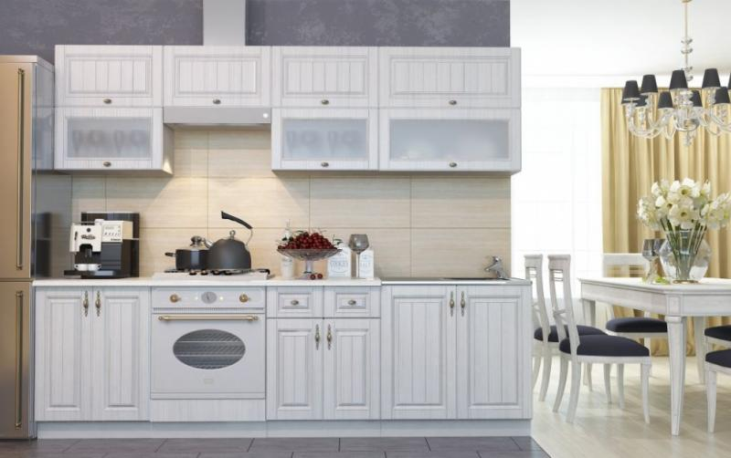 Фото Кухни модульные Кухня Империя Сандал (ДСВ мебель)