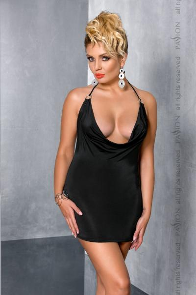 MIRACLE CHEMISE black 4XL/5XL - Passion
