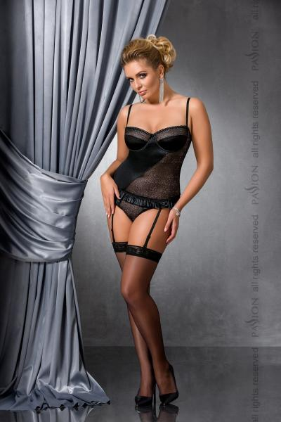 CAROLYN CORSET black 4XL/5XL - Passion