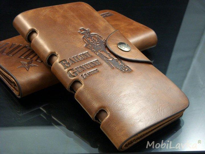 Мужской клатч портмоне бумажник визитница Bailini длинный