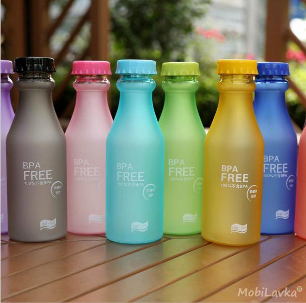 Бутылочка для воды Bpa Free 550мл.
