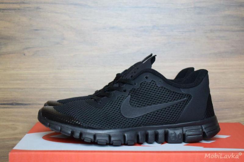 Nike Free Run 3.0 Black (36-45)