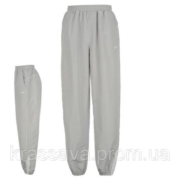 Спортивные штаны мужские Slazenger, оригинал, серые,  M/48