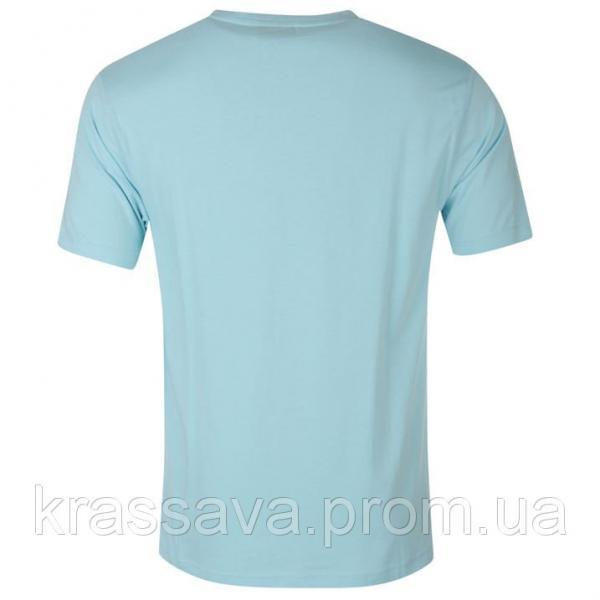 Футболка мужская Slazenger, оригинал, голубая,  M/48