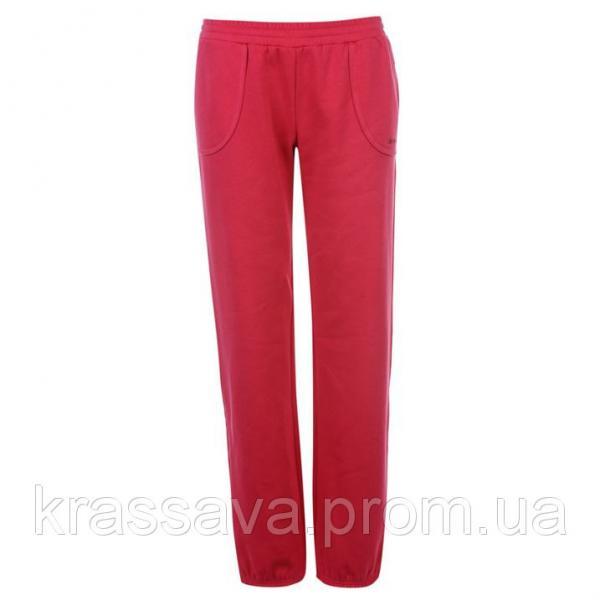 Спортивные штаны женские на флисе LA Gear, оригинал, розовые, M/12/46