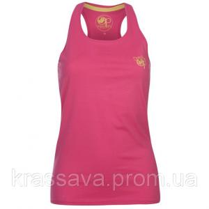 Фото Женская футболка, поло, майка Майка, борцовка женская Ocean Pacific, оригинал, розовая, L/14/48