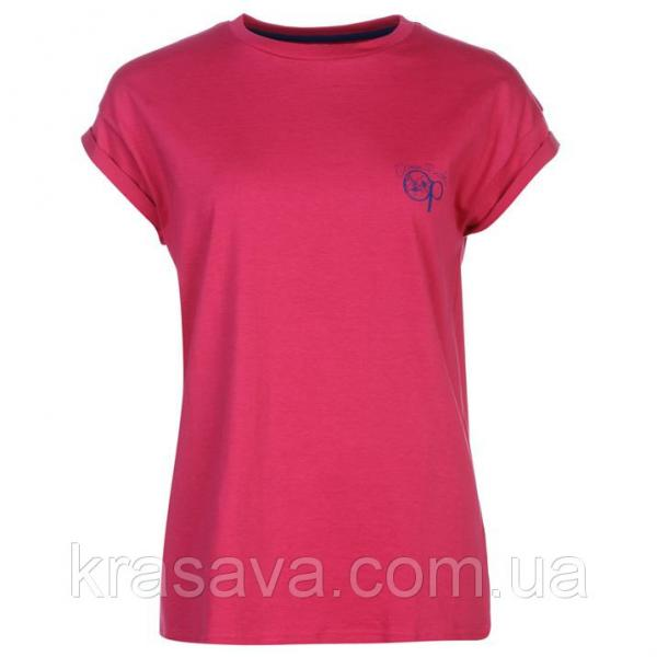 Футболка женская Ocean Pacific, оригинал, розовая, S/10/44