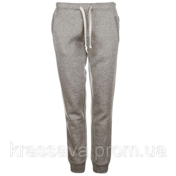 Спортивные штаны женские на флисе Miss Fiori, оригинал, серые, XL/16/50