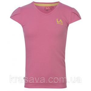 Фото Футболка,борцовка,майка для девочек Футболка для девочки LA Gear, оригинал, розовая, 11-12 лет/146-152 см/LG