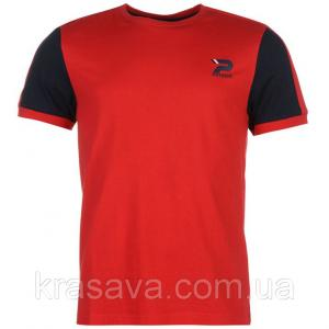 Фото Мужская футболка, майка, поло Футболка мужская Patrick, оригинал, красная,  XL/52