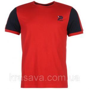 Фото Мужская футболка, майка, поло Футболка мужская Patrick, оригинал, красная, XXL/54
