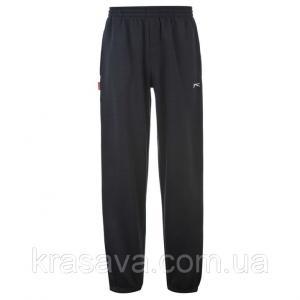 Фото Мужские спортивные штаны Спортивные штаны мужские на флисе Slazenger, оригинал, темно-синие,  L/50