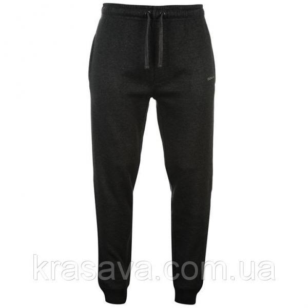 Спортивные штаны мужские на флисе Donnay, оригинал, темно-серые,  XL/52