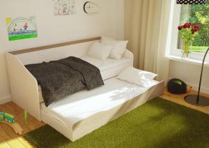 Кровать Паскаль с выкатным спальным местом (БТС)
