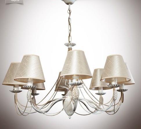 Ванесса Люстра 8 ламп с абажуром