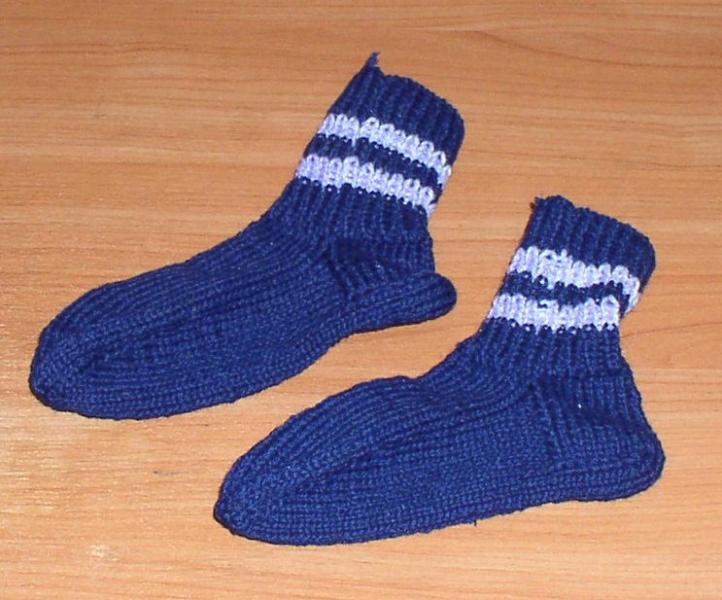 Носки вязаные детские *6516