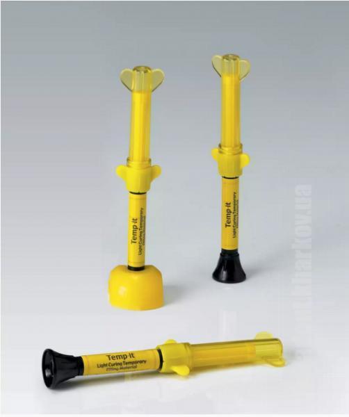 Фото Для стоматологических клиник, Материалы, Временные материалы Temp-IT (Темп-Ит), желтые и синие