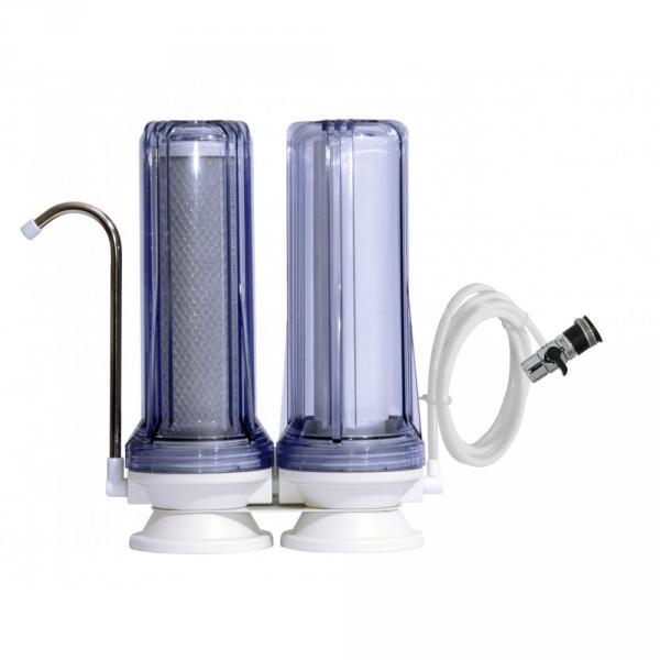 Фото Фильтры для воды проточного типа Фильтр на мойку двухступенчатый FN-2