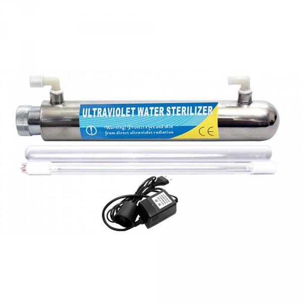 Фильтр высокой производительности UF-1000 (КДФ, уголь, УФ мембраной)