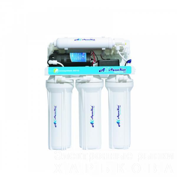 Осмос AquaKut с помпой 50G RO-5; А8,А-01 - Бытовые фильтры обратного осмоса, комплектующие к ним на рынке Барабашова