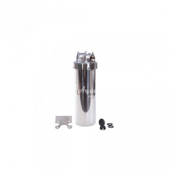 Фото Магистральные колбы для (Холодной / Горячей ) воды. Фильтры для воды проточного типа Колба нержавеющая сталь 2Р HOT 10