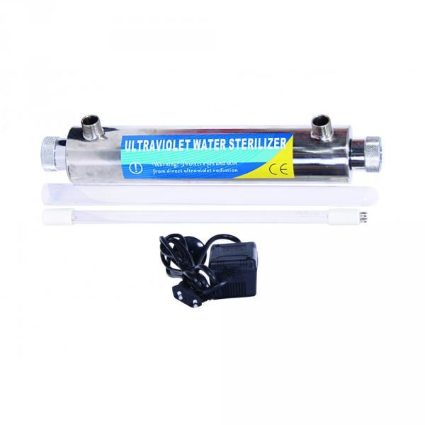 Фото Ультрафиолетовые обеззараживатели Установка ультрафиолетового обеззараживания UV-6W / 0,56G