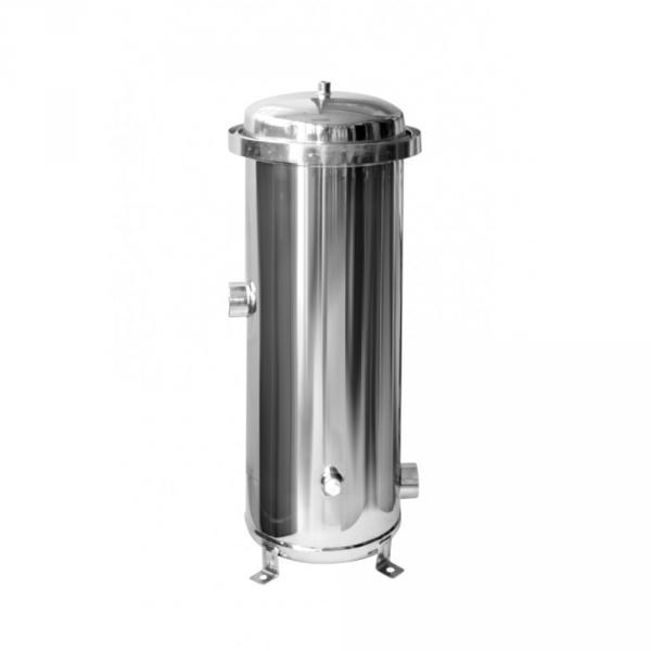 Фото Фильтры для воды проточного типа, Магистральнные фильтры Мультипатронный фильтр S/S - 7*20 (нержавеющая сталь)