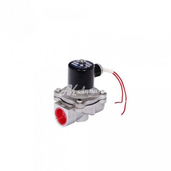"""Соленоидный электромагнитный клапан нерж. 1/2""""/220v. 2w-160-15"""