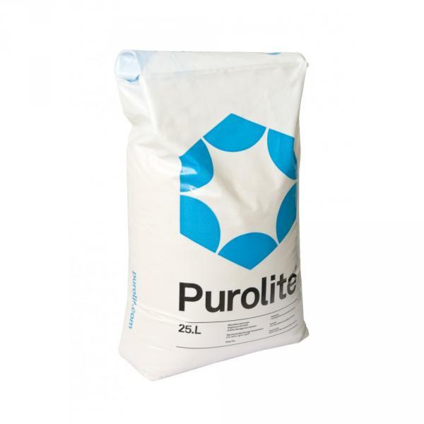 Фото Наполнители, Засыпки и соль для фильтров Ионообменная смола Purelite (25л)