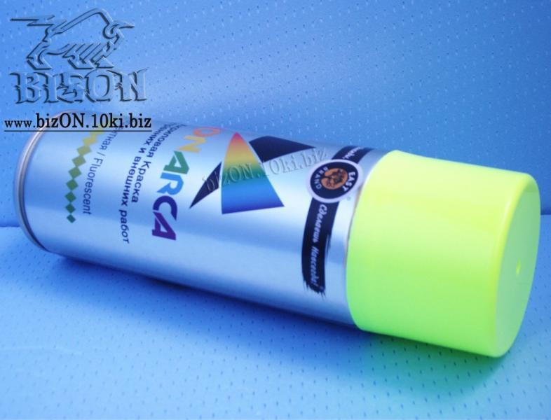 Фото Краски флуоресцентные аэрозольные
