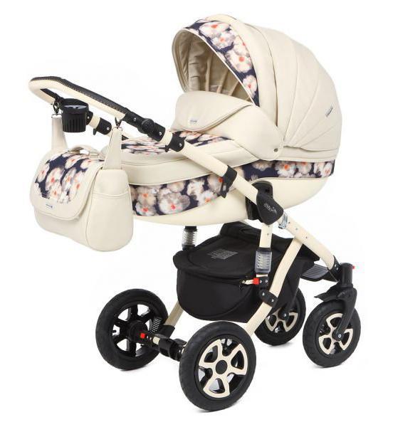 Детская коляска Adamex Barletta Ecco 3 в 1