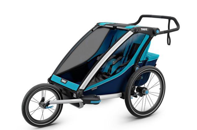 Детская мультиспортивная коляска Thule Chariot Cross2