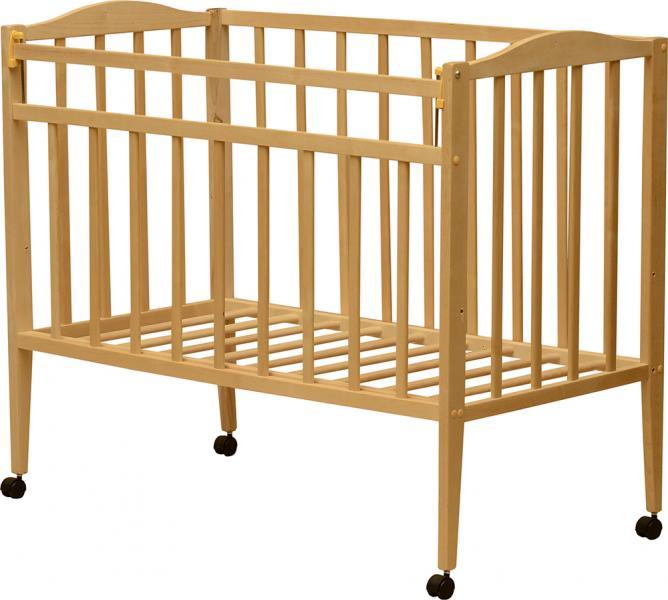 Детская кроватка VDK Magico колесо 120x60 см