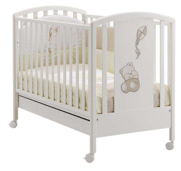Детская кроватка Mibb Aquilone 125x65 см