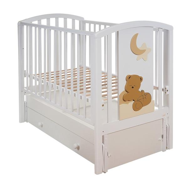 Детская кровать Mibb Babi с маятником 120х60