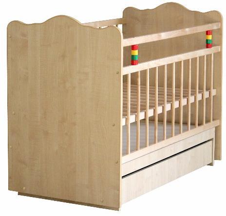 Детская кроватка Промтекс Колибри Классик 5 (маятник поперечный) 120x60 см