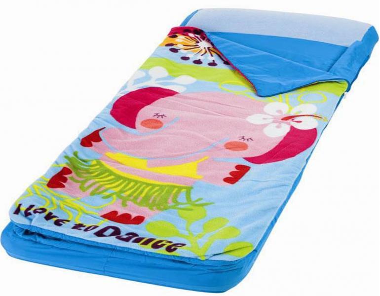 Надувной матрасс Intex  детский с покрывалом на молнии 64х152х20см с66802