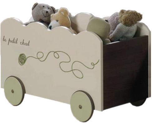 Ящик для детских игрушек Micuna Cats BA-1177