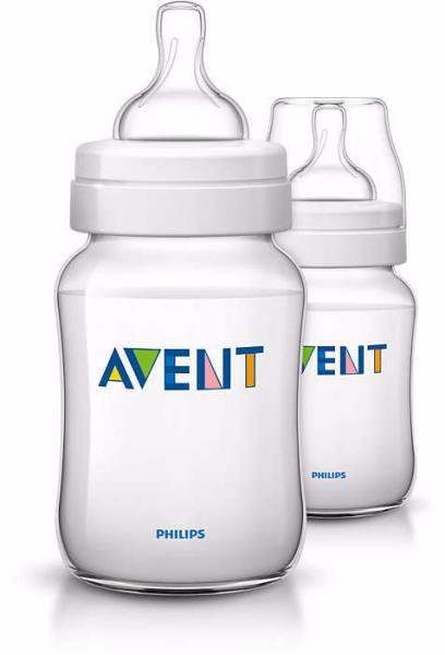 Бутылочка для кормления Philips Avent 260 мл полипропилен 2 шт. SCF683/27